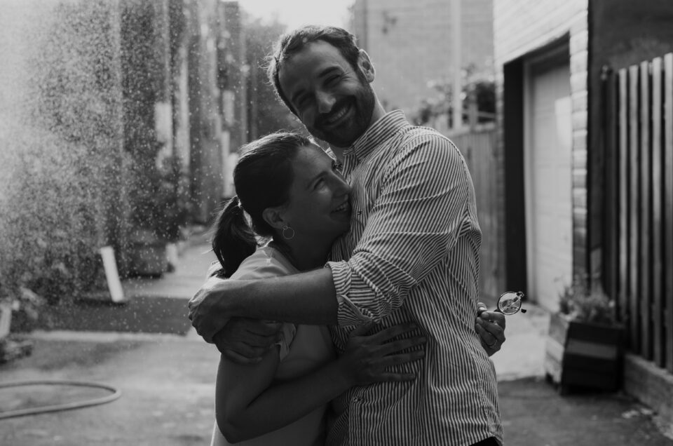 Réconciliation avec les photos de famille