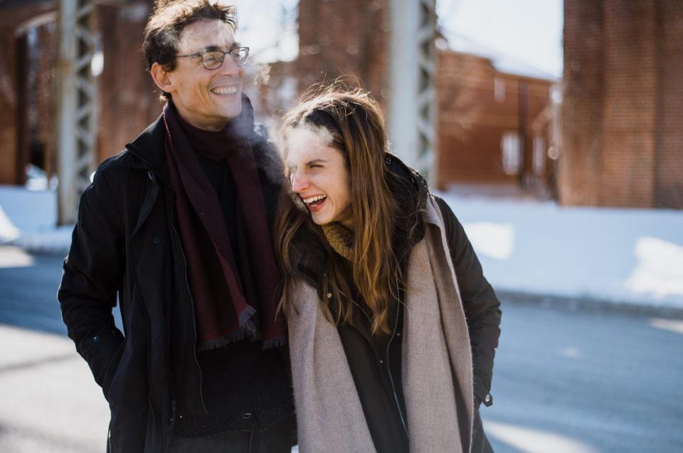 Caroline & Alex quelque part à Montréal